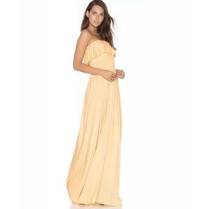 Rachel Pally Strapless Sienna Maxi Dress